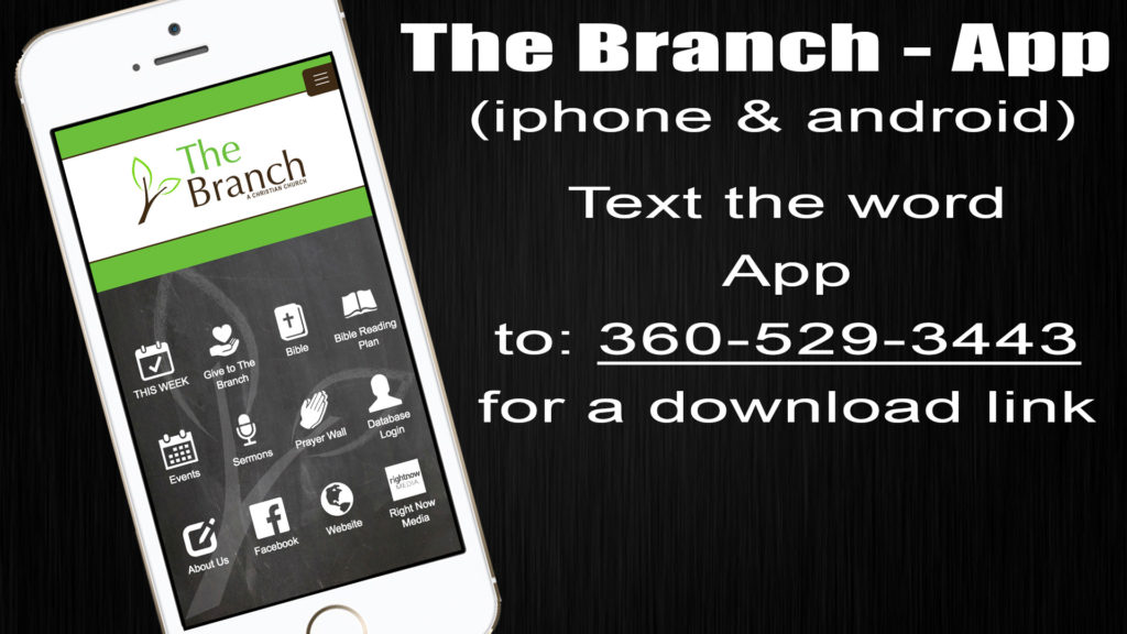 The Branch Mobile App   The Branch Christian Church